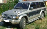 And electromotor cutie viteze punte fata punte Mitsubishi Pajero 2000