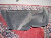Capitonaj portbagaj din dezmembrari renault Renault Megane 2008