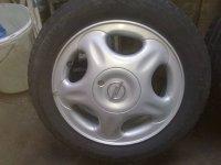 """Jante aliaj """" impecabile 4 bucati cu anvelope Opel Corsa 2000"""