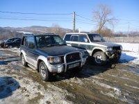 Parc dezmembrari pajero scurt si lung 9 bucati Mitsubishi Pajero 1995