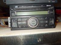 Radio cd nissan tiida din dezmembrari radio cd Nissan 100 2008