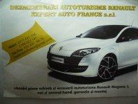 Vand bara fata + grila + bandou + scut sub bara din Renault Megane 2011
