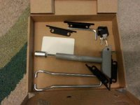 Vand kit bare portbagaj plafon mini cooper r Mini Coupper 2013
