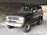 Toyota land cruiser j7 0(7 3) 2 5 td intercooler Toyota Land Cruiser 1992