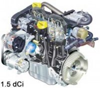 Vand motor dacia logan 1 5 dci euro3 1 5dci euro4 1 Dacia Logan 2006
