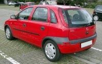 portbagaj opel corsa c Opel Corsa 2003