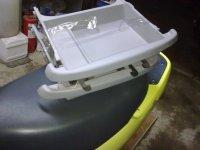 Vand sertare de sub scaune fata originale cu Citroen C3 2005