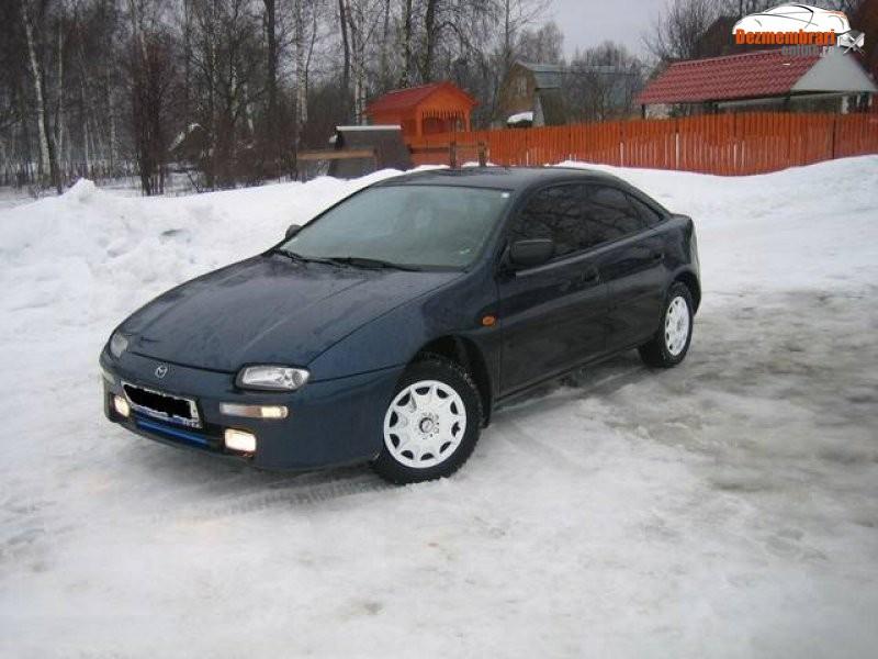 1998 Mazda 323F.